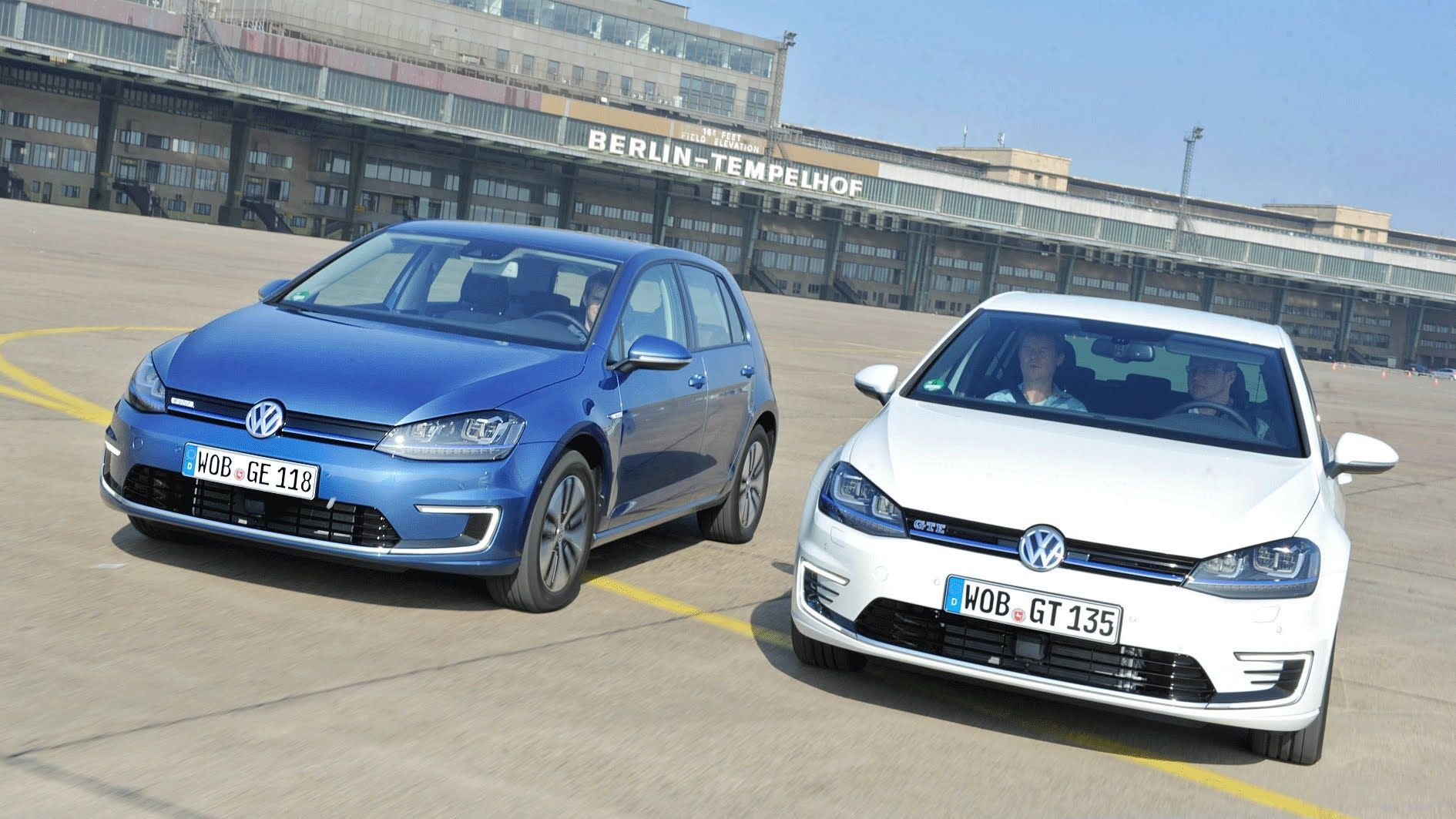 Im Vergleich: VW e-Golf und Golf GTE