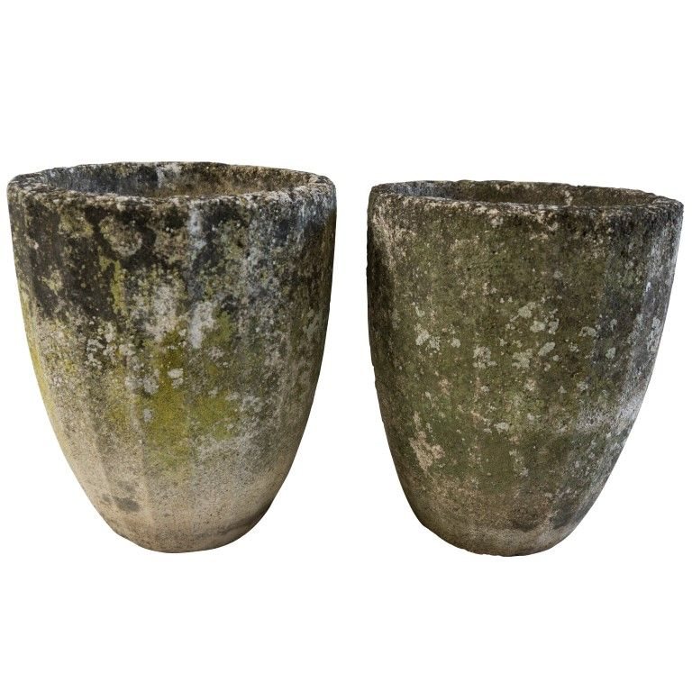 Ig16951 French Vintage Cement Planters