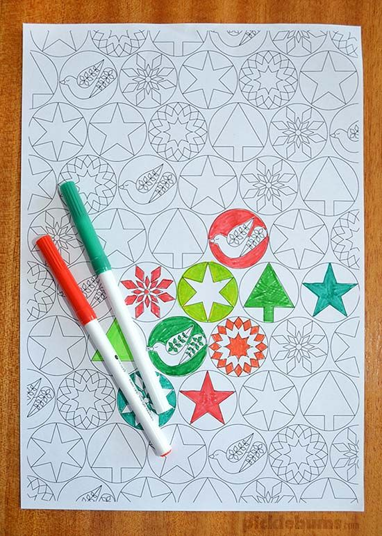 Colour Your Own Christmas Wrapping Paper | Colorear, Regalitos y Papel