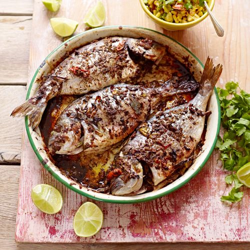 You can also use this gorgeous jerk marinade on chicken, pork… whatever you  fancy Jamie Magazine