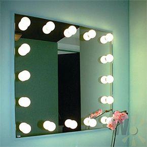 spiegel mit lampe kühlen pic und dbfcfeac