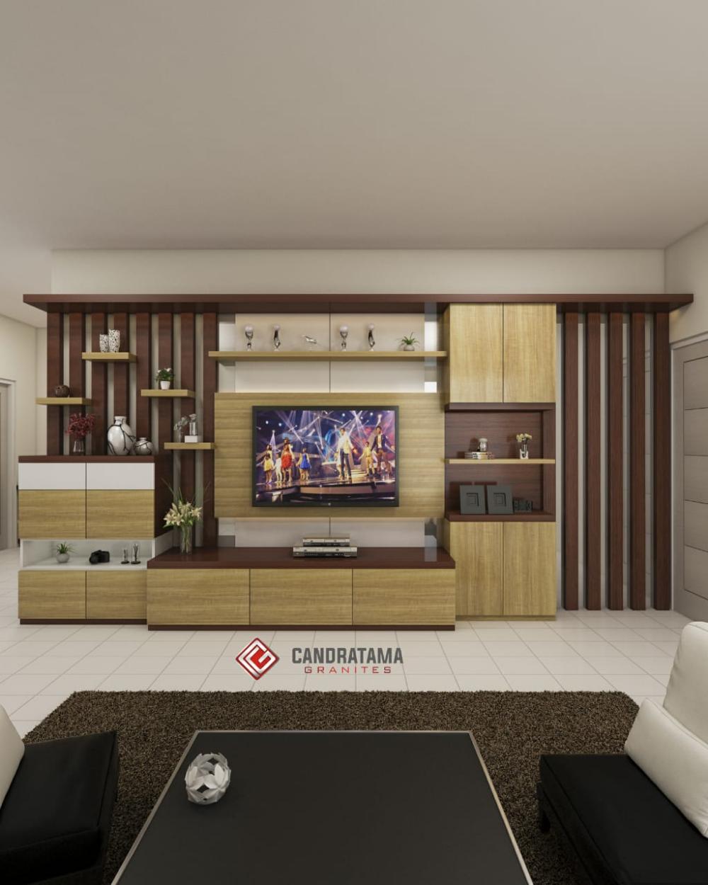 Tv Showcase Design Ideas For Living Room Decor 15524: Backdrop Tv Terbaik