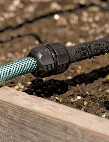 Snip N Drip Soaker Hose System Free Shipping Gardeners Com Irrigation Drip Watering System Garden Supplies