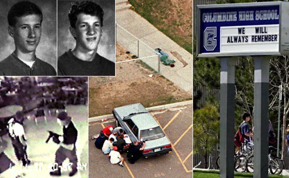 the columbine high school shooting in the united states of america Attack on a florida high school is the eighth shooting to have resulted in death or injury during the first seven post-columbine generation demands action.