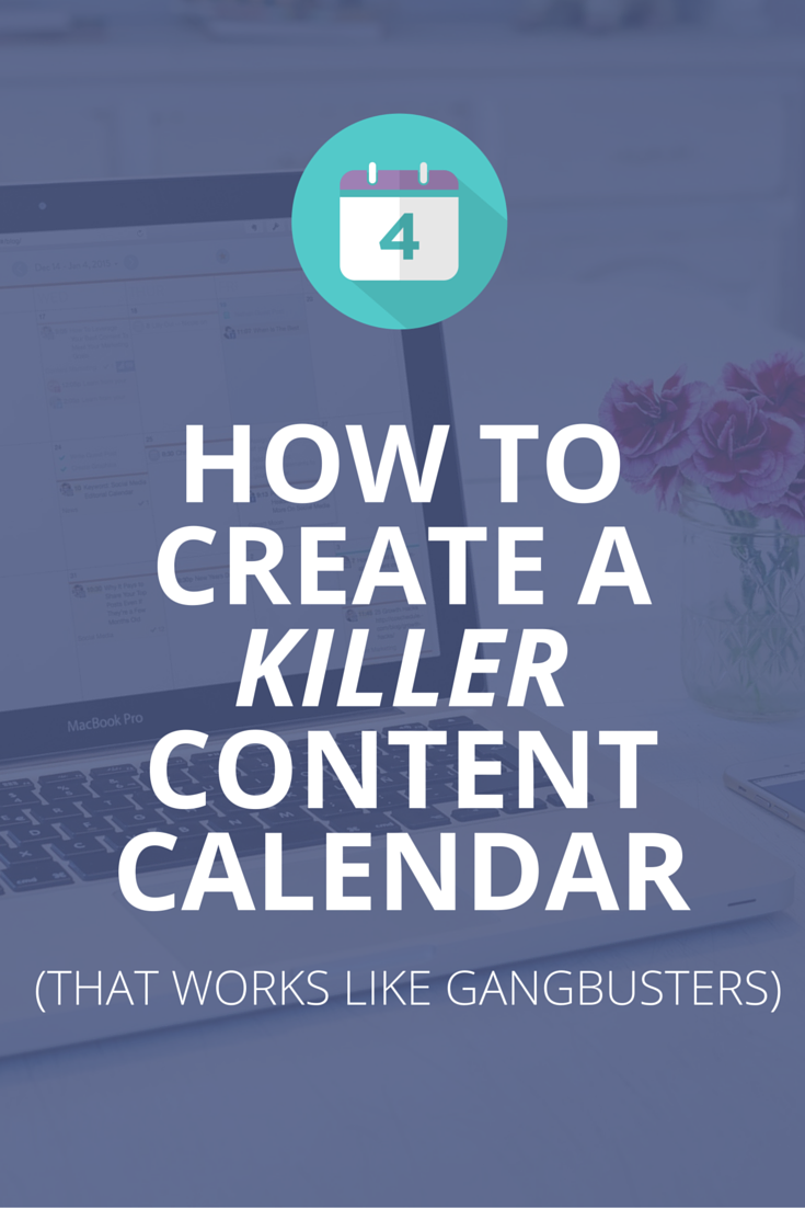 Redaktionsplan für Blogger: Use this step-by-step guide to create an awesome content calendar. Plus, free template inside. :)