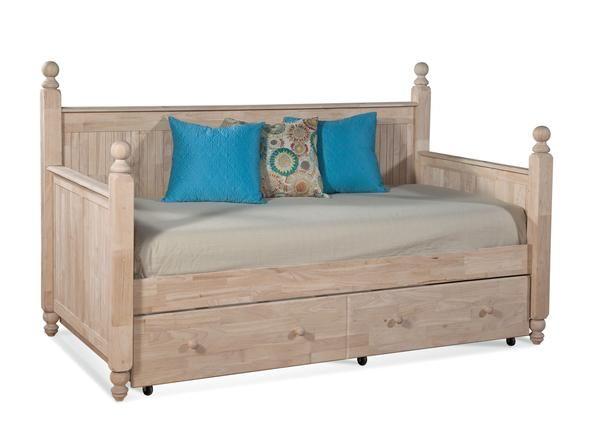 Photo of Cottage Hardwood Day Bed (Optional Trundle)