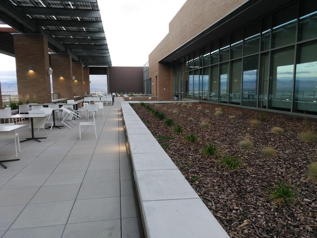 University Of Utah Quinney School Of Law Salt Lake City Ut University Of Utah Green Roof Vegetated Roofs