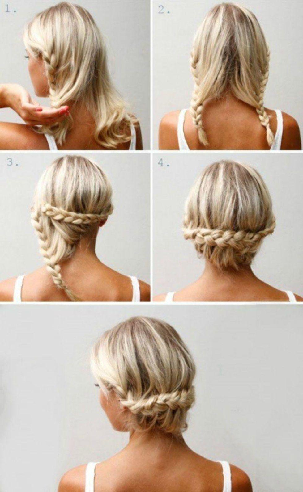 10 besondere, aber schnelle Frisuren  Lange dünne haare, Frisur