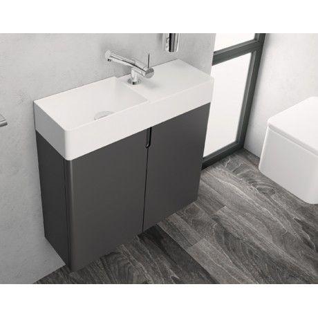 Cosmic Fancy Gastehandwaschbecken 60cm Rechts Mit Unterschrank Kombination Unterschrank Waschtisch Badezimmer Renovieren