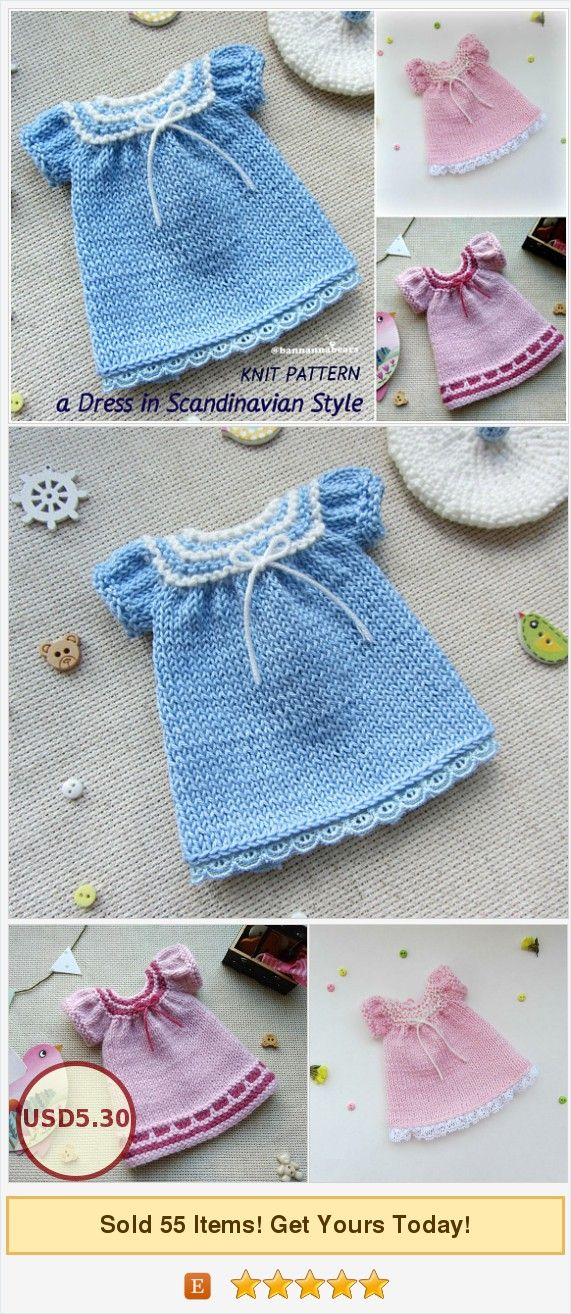 Doll Dress Pattern Amigurumi Toy Dress Blythe Dress Pattern Knit