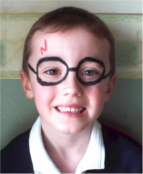 Little Cherubs Face Painting In Milton Keynes Buckinghamshire Area Face Painting Easy Face Painting For Boys Harry Potter Face