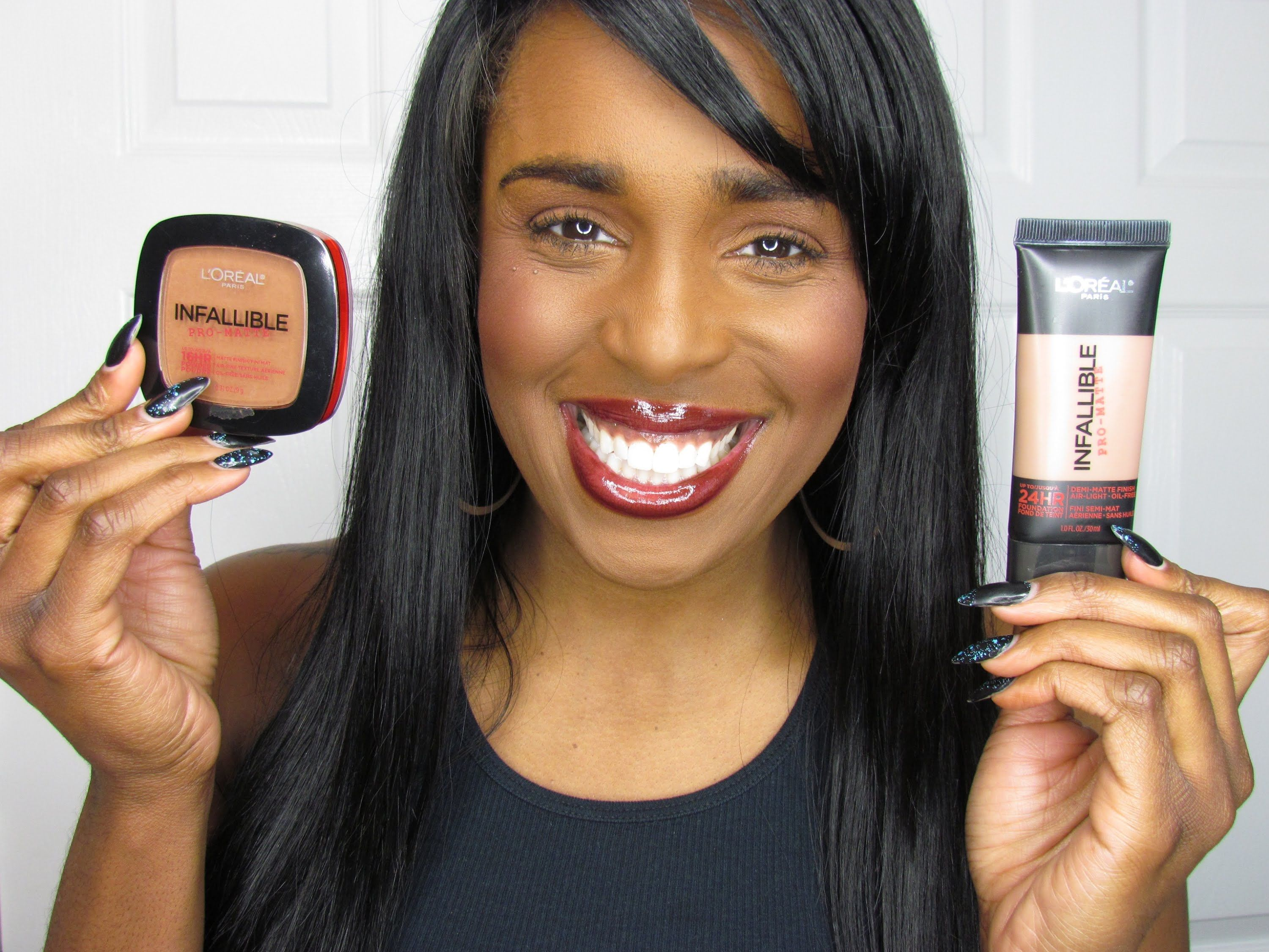 *NEW* L'OREAL INFALLIBLE PROMATTE FOUNDATION & POWDER