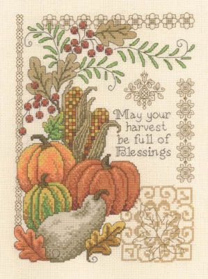 Full Of Blessings - Cross Stitch Pattern