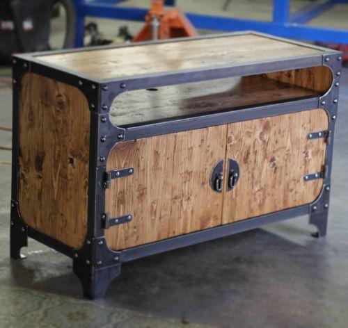 Pin de felosa construcciones en muebles industriales for Muebles industriales metal baratos