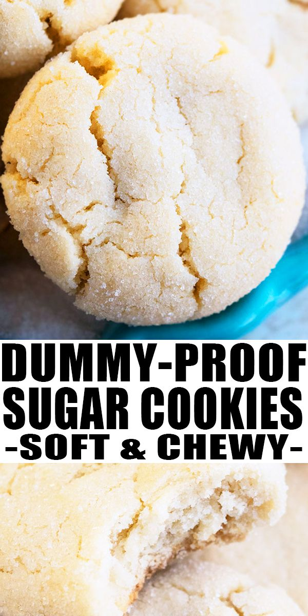 Easy Sugar Cookies (Soft and Chewy)
