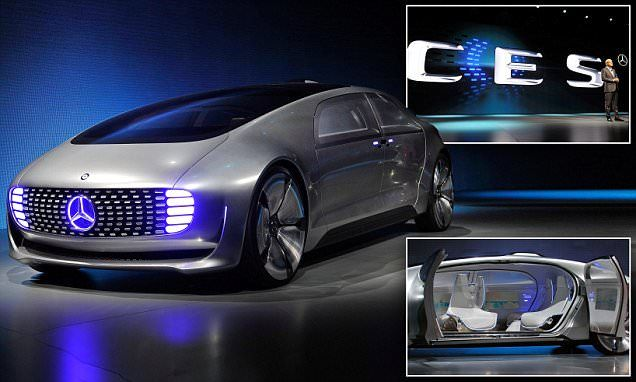 Mercedes unveils selfdriving car that you will finally
