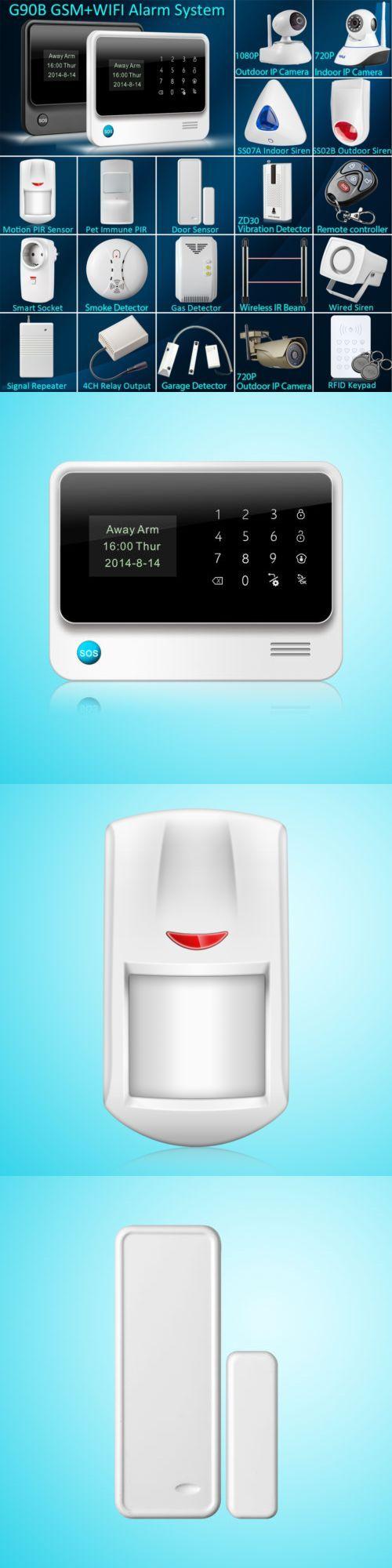 Security Systems 41969: G90b Wifi Gsm Wireless Home Intruder Burglar ...