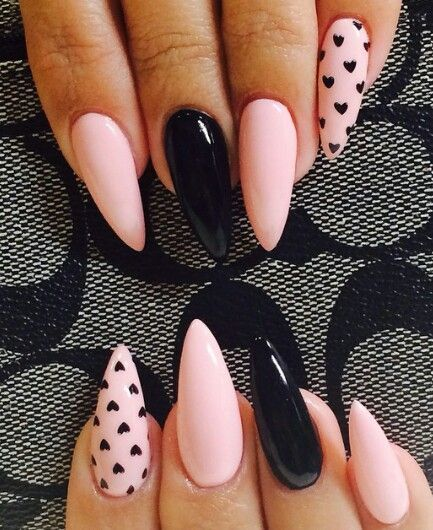 Pin by raven ortega on nails pinterest nail nail neutral negative space elegant stiletto nail art in the colour that goes with everything seen at many catwalk showsx image via cool stiletto nails art prinsesfo Images