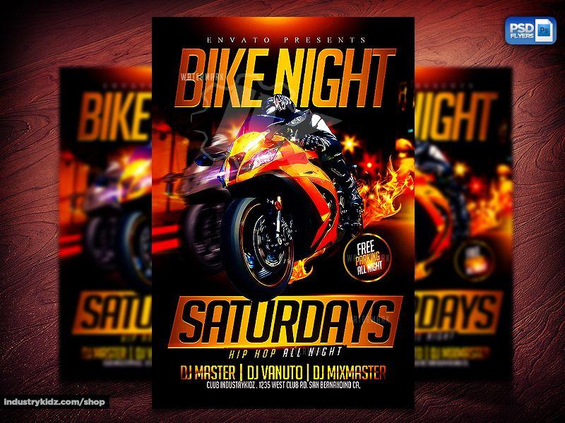 motorcycle event flyer by industrykidz deviantart com on deviantart