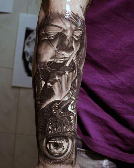 Tatuaże Męskie Na Przedramieniu Tattoos Tatuaże Męskie