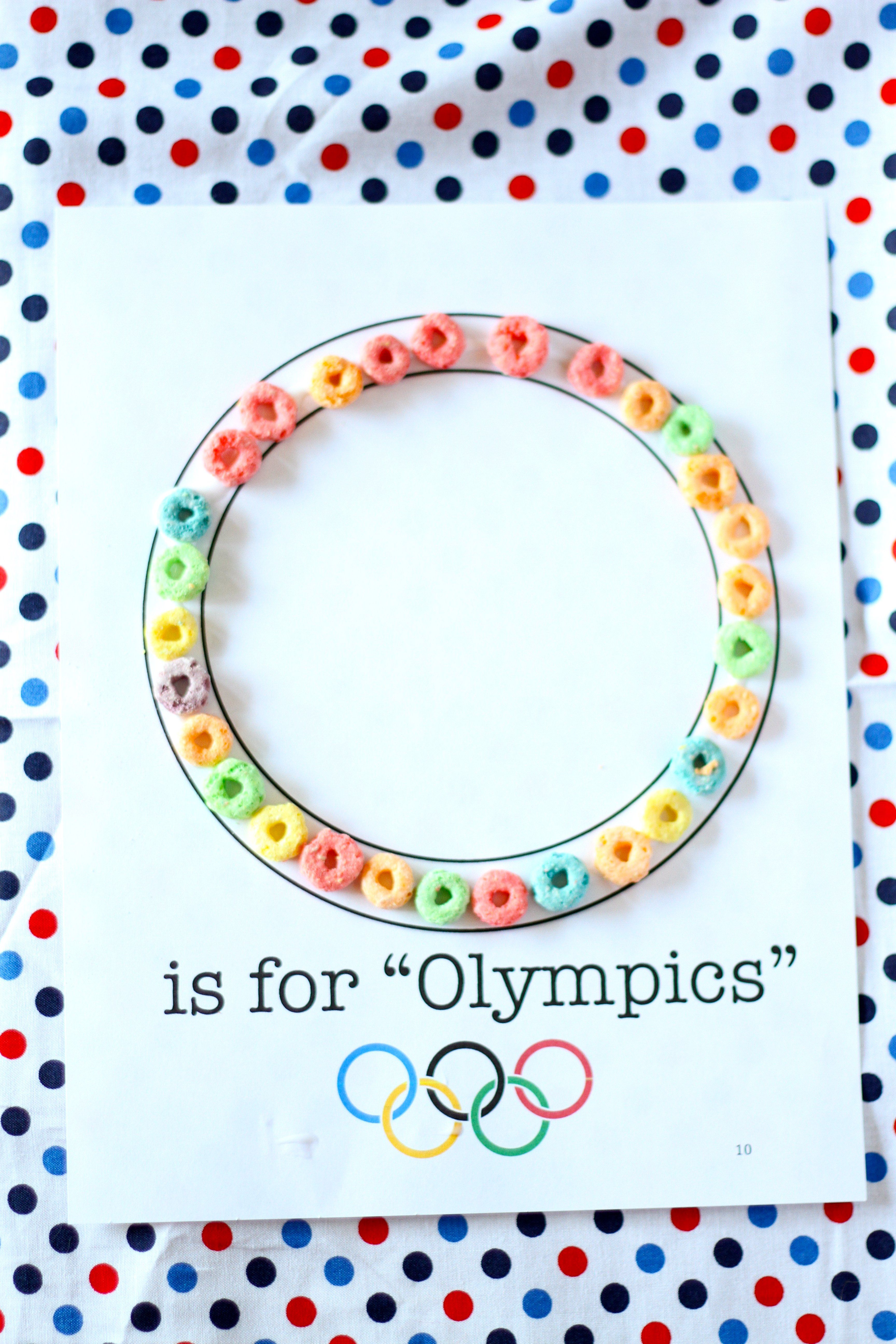 O Is For Olympics Craft I Can Teach My Child Olympic Crafts Letter O Crafts Letter A Crafts [ 5184 x 3456 Pixel ]