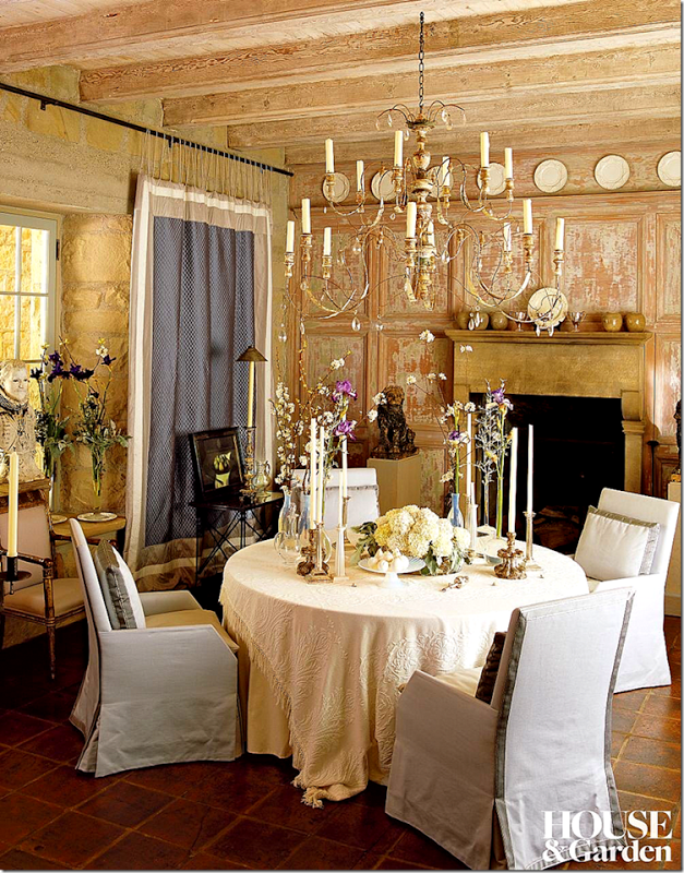 John Saladinou0027s Dining Room Features A Beautiful And Delicate Chandelier. I  Love This Quote From