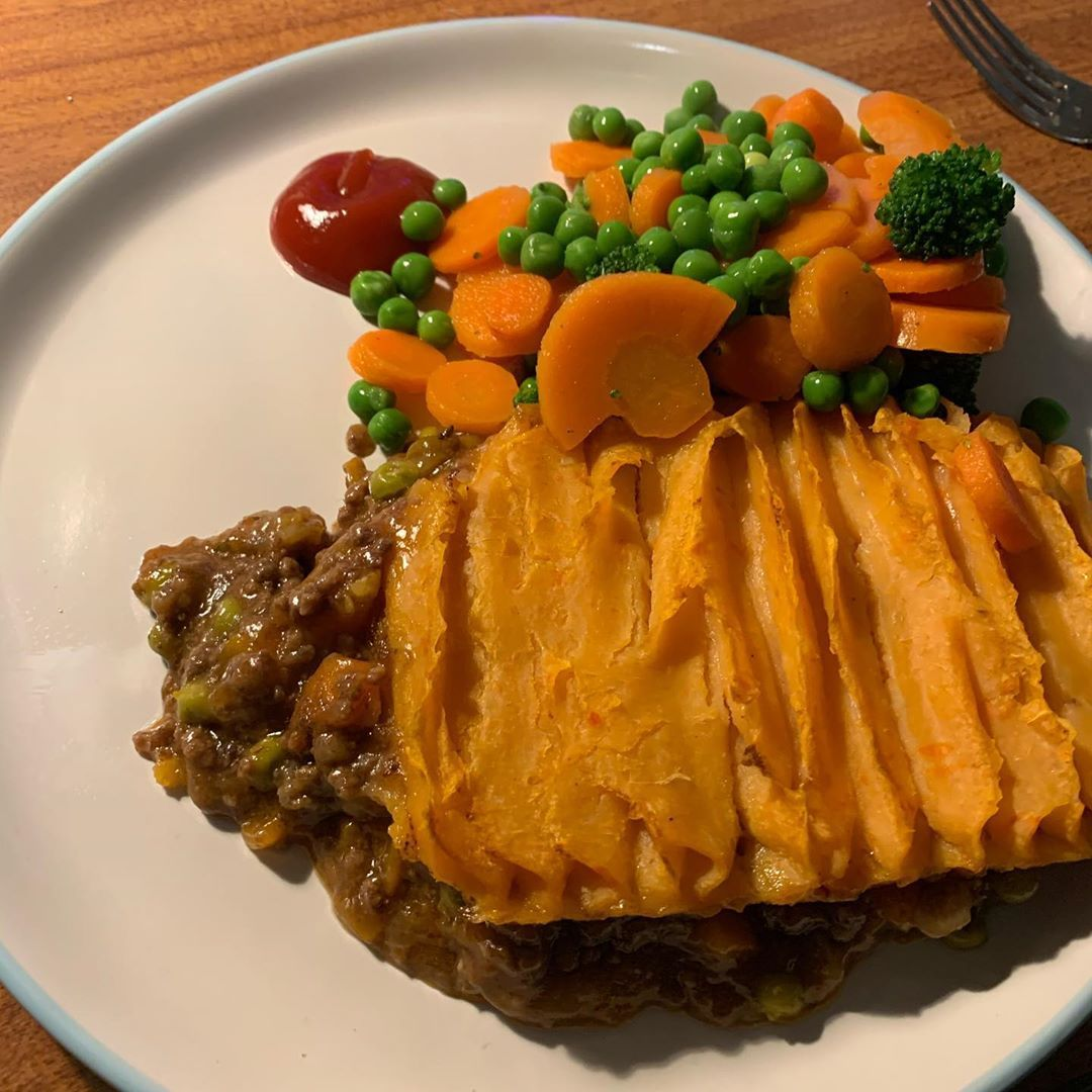 Kirsty's cottage pie always a winner  @kirstys_official