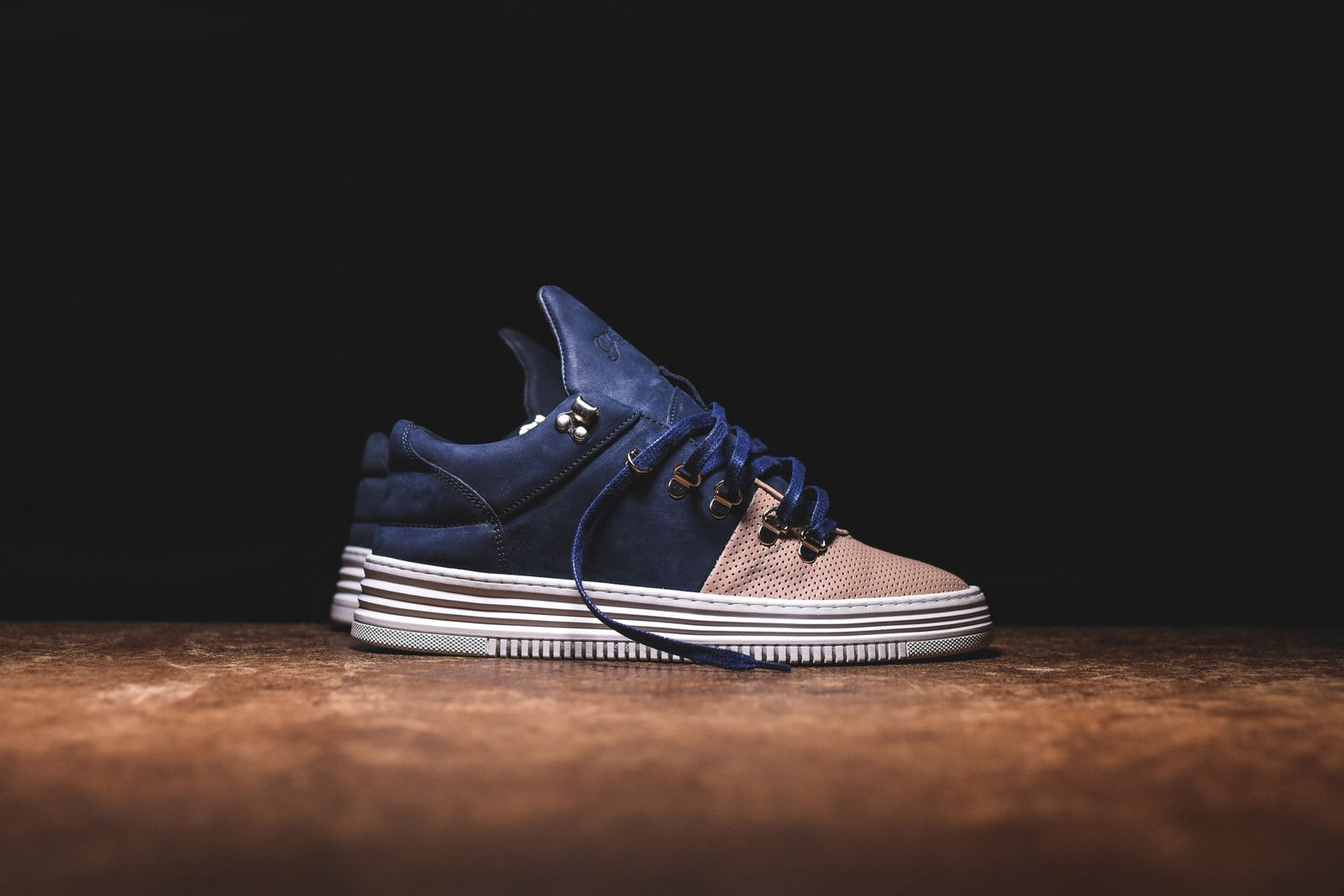 Filling Pieces Mountain Cut Low Salmon/Navy