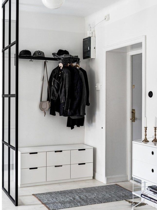 Binnenkijken in een Scandinavisch zwart-wit-grijs interieur ...