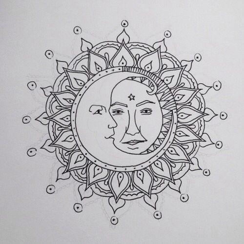 Star crossed lovers   Tattoo\'s   Pinterest   Mandalas, Imágenes para ...