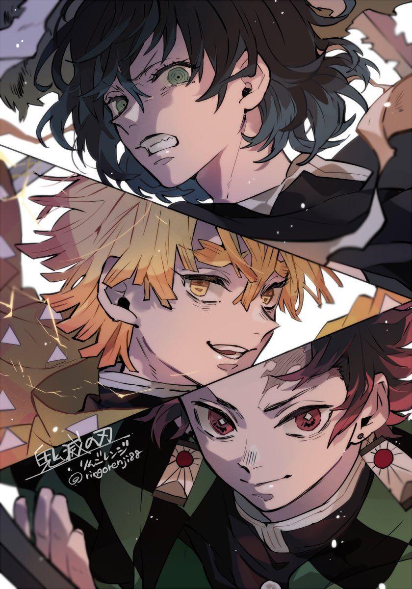 pin by cynthia loh on 豆腐 anime demon slayer anime anime fanart