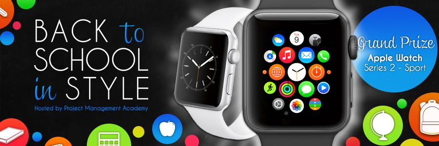 Grand Prize Winner Apple Watch Series 2 Sport First