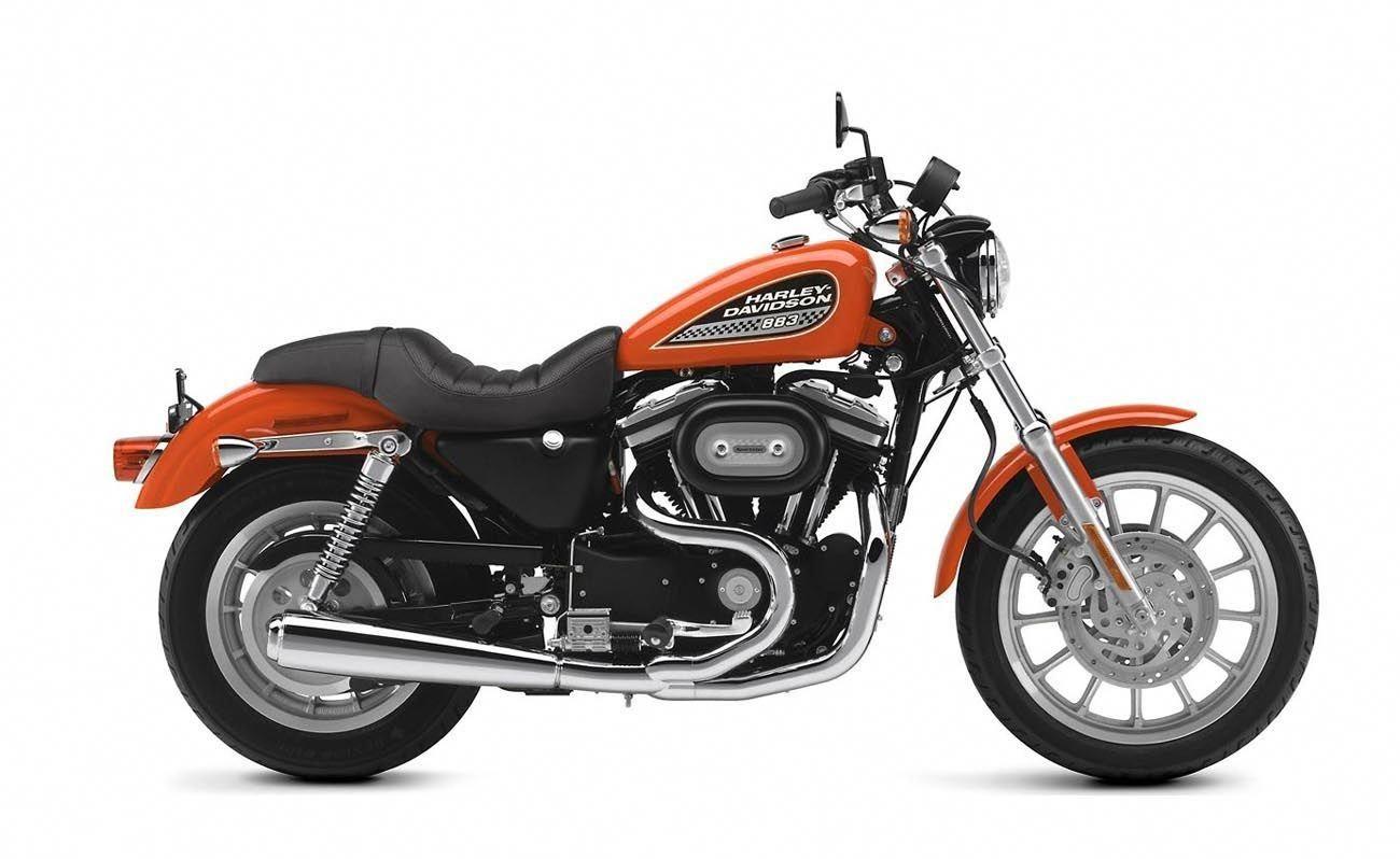 Before image HarleyDavidsonSporster Harley davidson 883