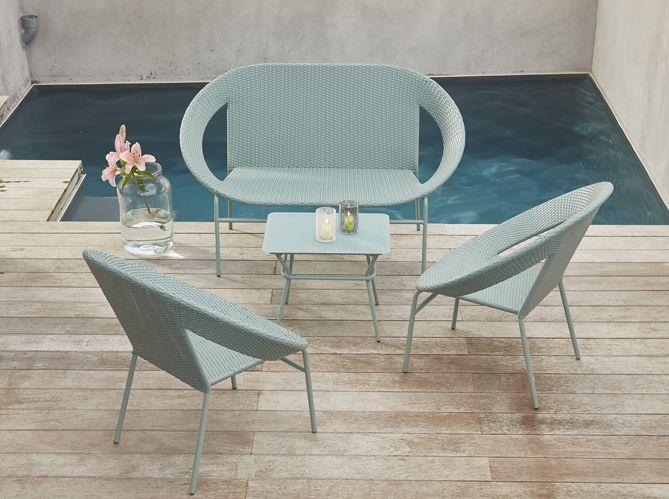 Salon de jardin pas cher : notre sélection de meubles canons pour le ...