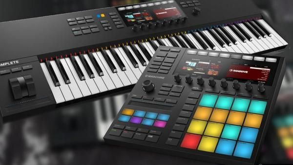 Native Instruments Announce 2 New Products Maschine Mk3 And Komplete Kontrol Mk2 Native Instruments Instruments Maschine