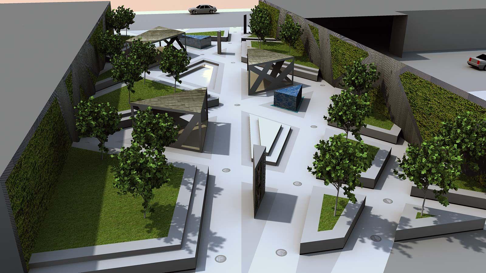 urban park design future man infrastructure parking design rh pinterest com modern industrial park design modern urban park design