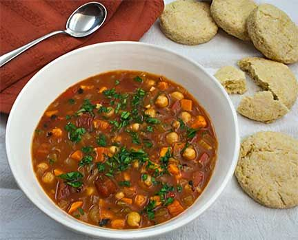 Moosewood Cookbook's Gypsy Soup