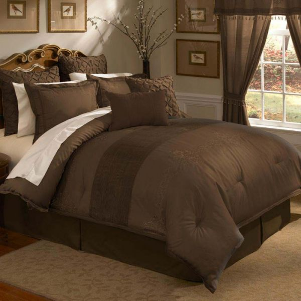 Maple Harbour Bedding Giveaway Brown Bed Brown Comforter Sets Comforter Sets