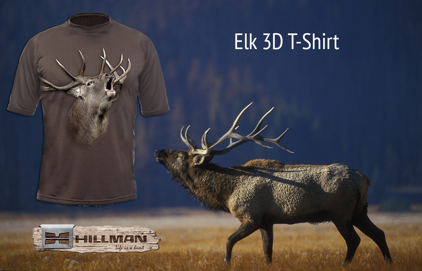 30c7d2b36272 Are you an Elk hunter  Show your elk hunting pride by wearing a T-shirt  that says just that!  Hillman  HillmanHunting  huntingclothing  hunter  hunt   natur ...