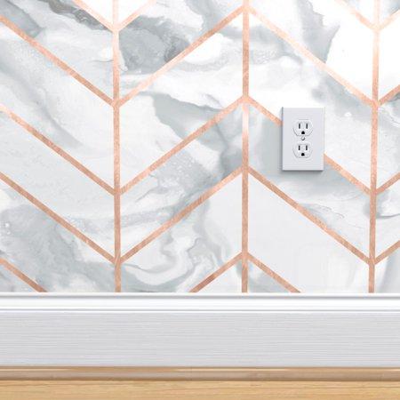 Home Improvement In 2020 Rose Gold Wallpaper Gold Wallpaper Removable Wallpaper