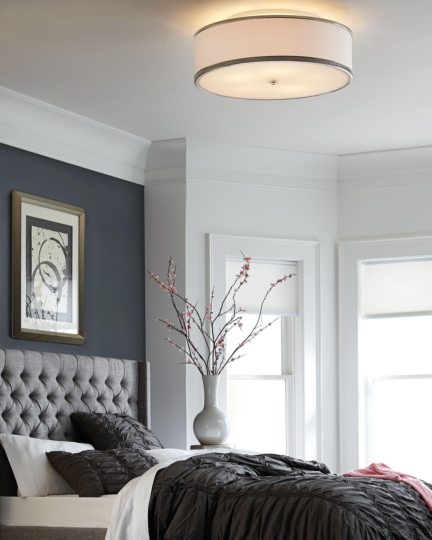 Feiss Pave 5 Light Indoor Semi Flush Mount In Polished Nickel Master Bedroom Lighting Bedroom Ceiling Light Bedroom Light Fixtures
