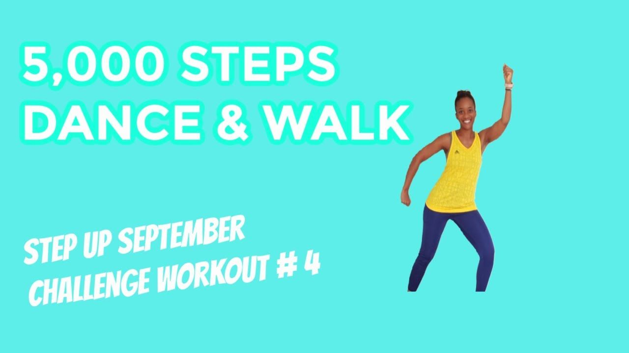 5000 steps Walk and Dance| Reach your 10000 steps goal the FUN way!