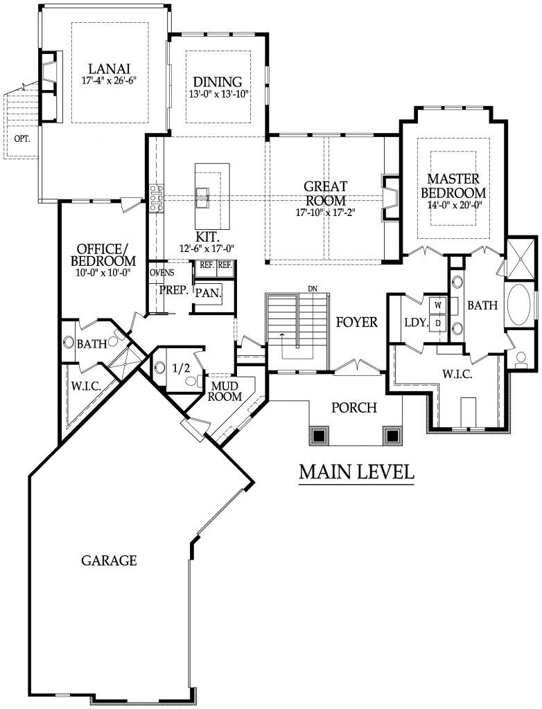 The Palermo Floor Plan Starr Homes Floor Plans Empty Nester House Plans How To Plan