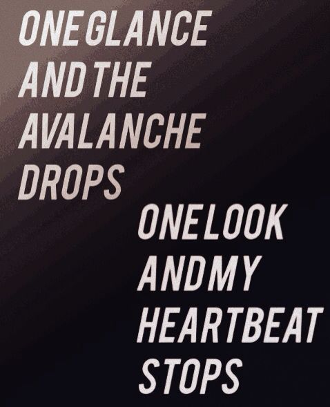 Avalanche Walk The Moon Quotes Song Lyrics In 2019 Pinterest