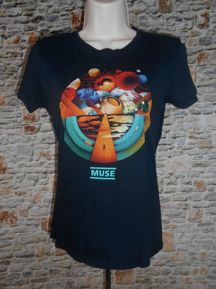 4019ed42 MUSE The Resistance Tour 10 T-shirt Exogenesis Black Women's Concert Shirt  #Unbranded #ShirtsTops