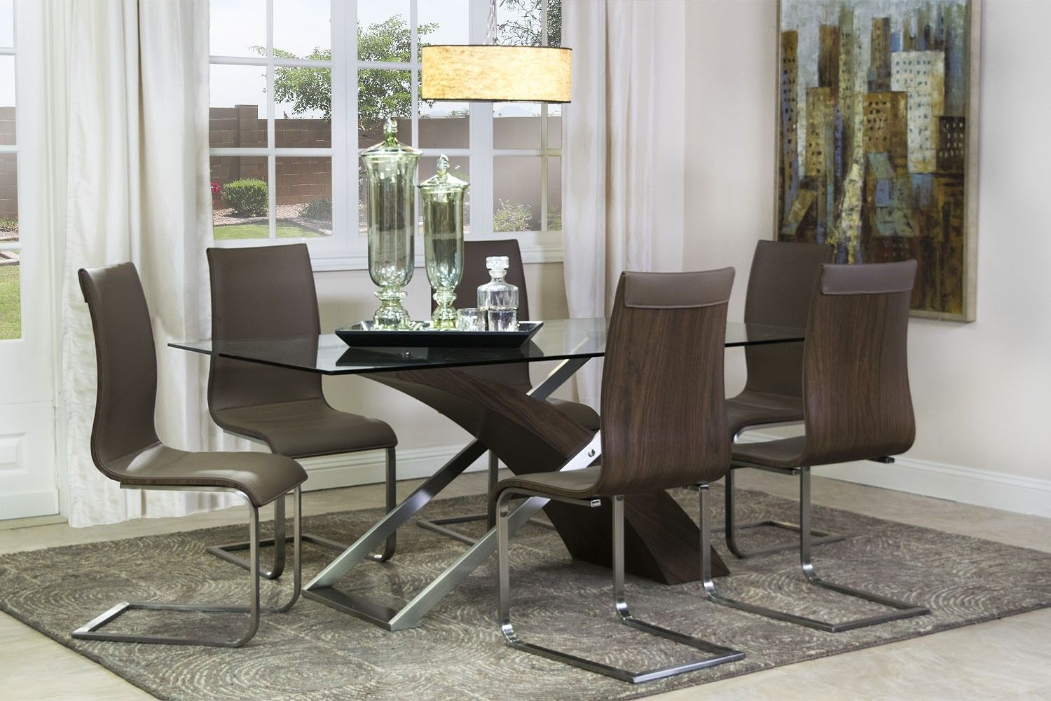 Mor Furniture For Less The Bentwood Glass Dining Table Mor Furniture For Less Eric 39 S Home
