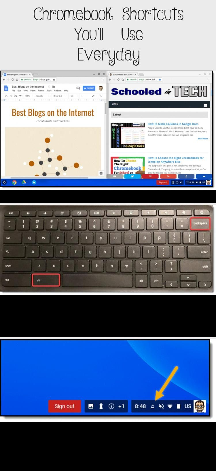 Chromebook Shortcuts You'll Use Everyday Technology in