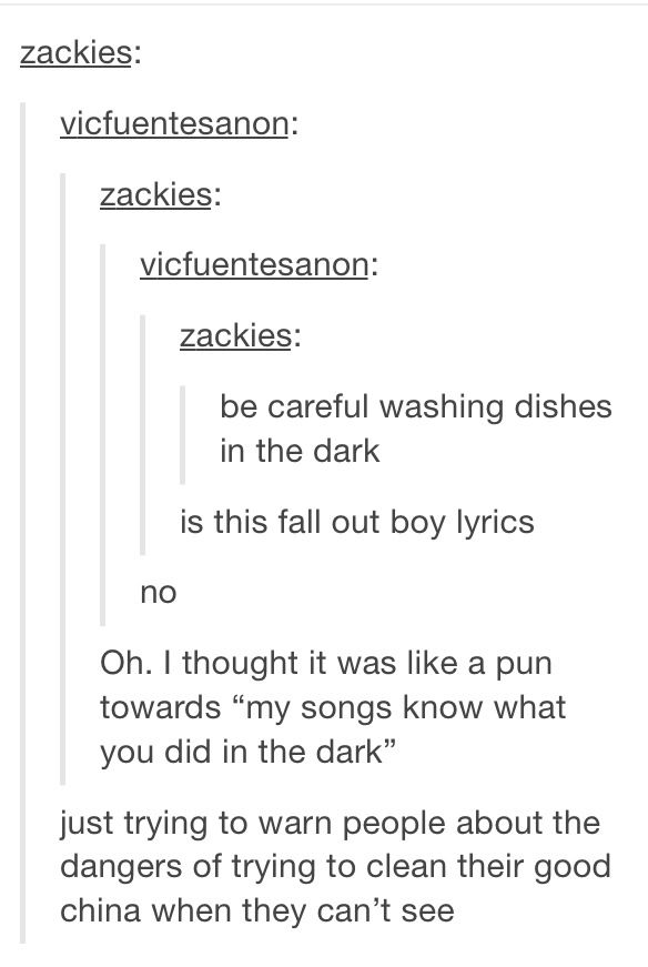 Fall Out Boy humor is never not funny. Plus I fuckin love this ...