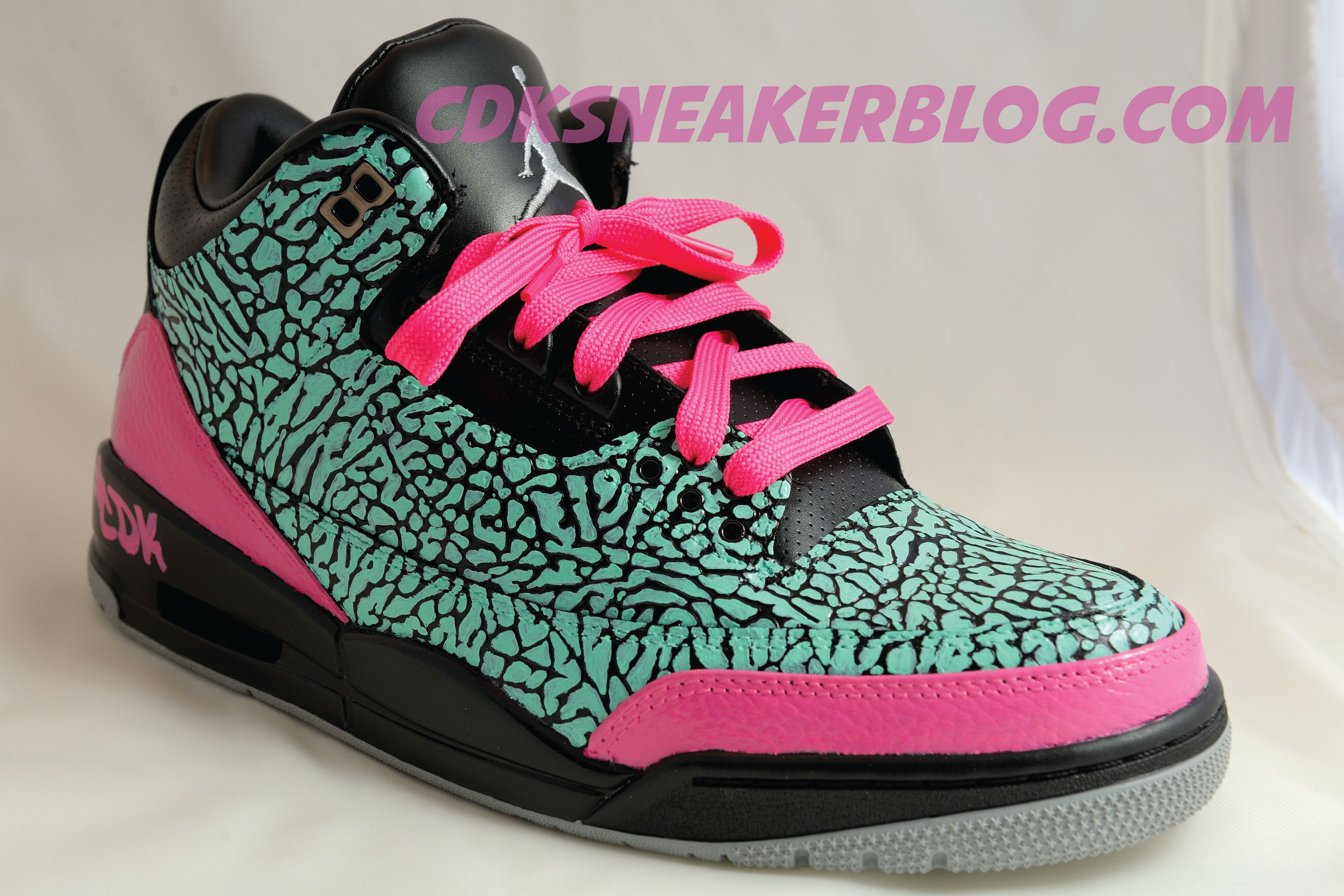 buy online 15056 4d3c0 ... inexpensive designed in december 2011 i painted this pair of air jordan  iii black flips inspired