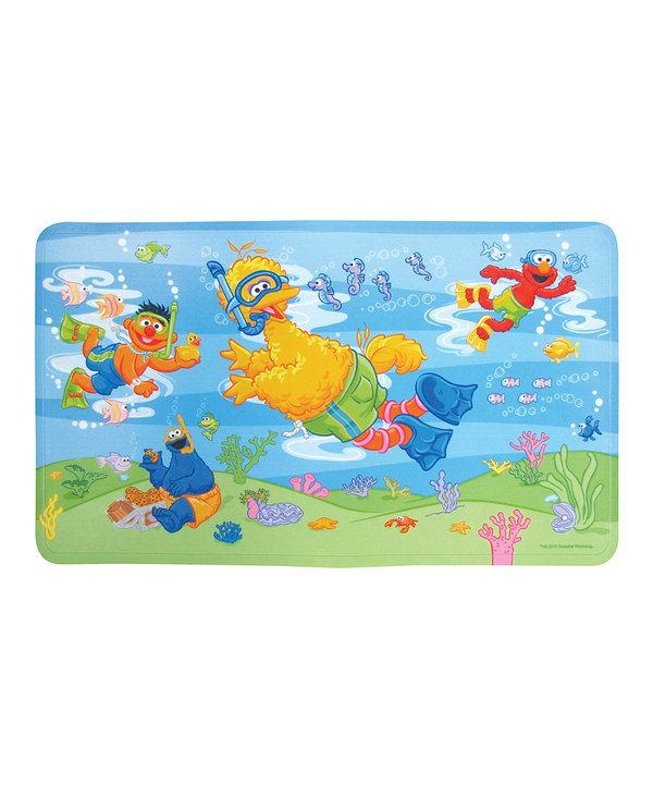 Look At This Sesame Street Underwater Bath Mat On Zulily Today